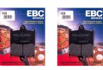 "TROPHY 1200 1994on: ""Full Front Set"" EBC Standard/Organic Brake Pads [FA236]=2xPairs"